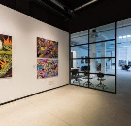 Reforma de una galería de arte