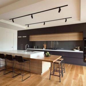 madera en cocina