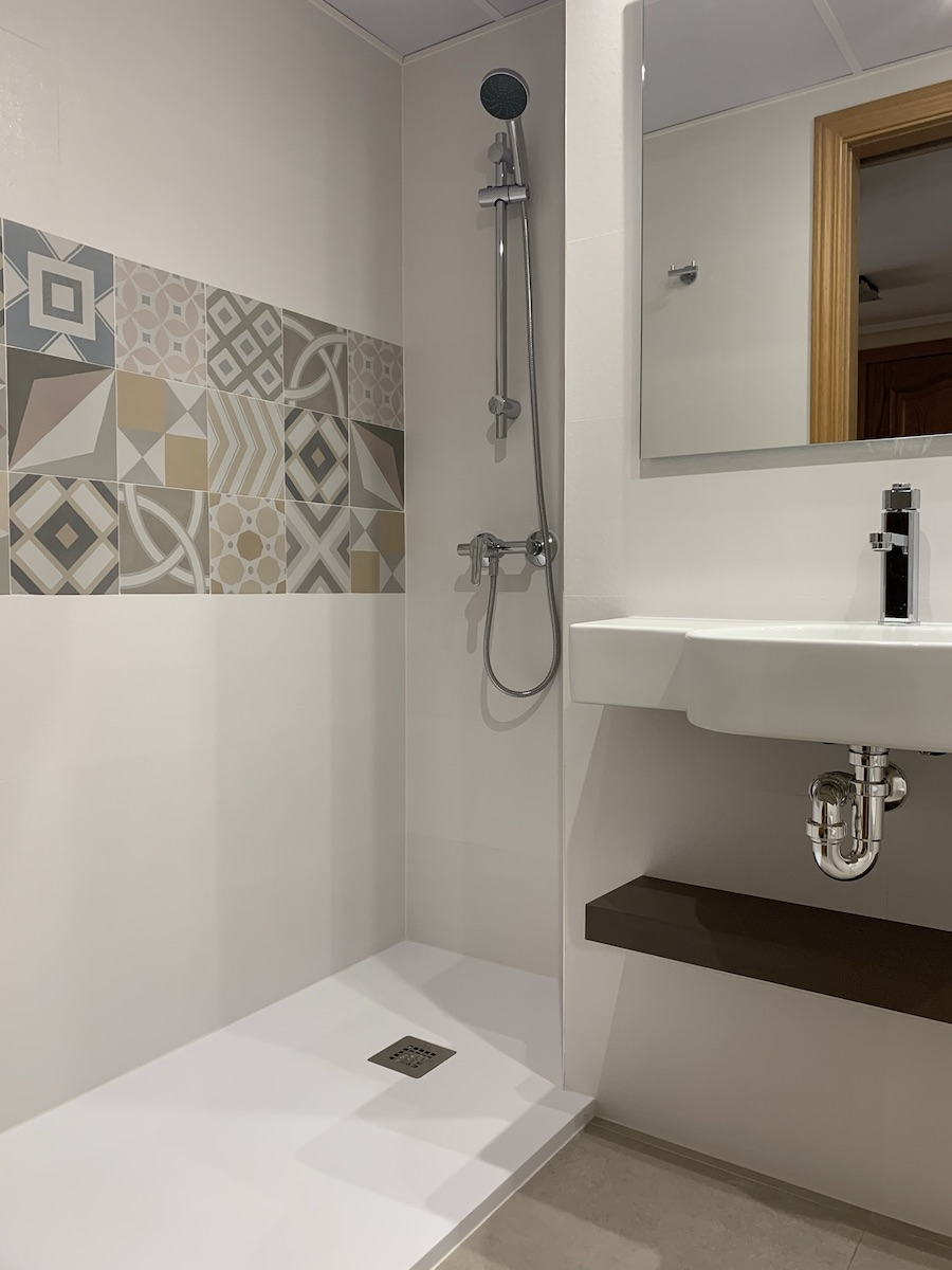 reforma baño pequeño zaragoza